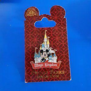 Disney Parks Collection Magic Kingdom  Pin New